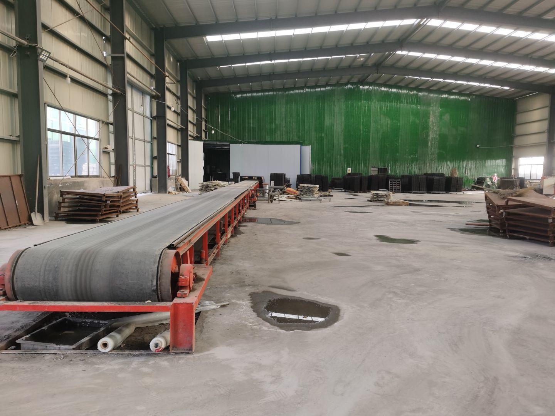 RPC盖板的生产车间布置